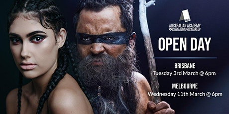 BRISBANE: AACM, The Australian Academy of Cinemagraphic Makeup Brisbane Campus Open Day & Student Showcase tickets