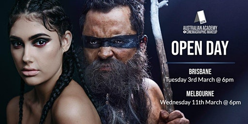 BRISBANE: AACM, The Australian Academy of Cinemagraphic Makeup Brisbane Campus Open Day & Student Showcase