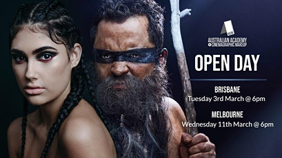 MELBOURNE: AACM,The Australian Academy of Cinemagraphic Makeup Melbourne Campus Open Day & Student Showcase tickets