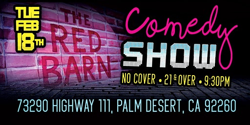 Red Barn Comedy Night: Benji GarciaReyes Tue Feb 18th