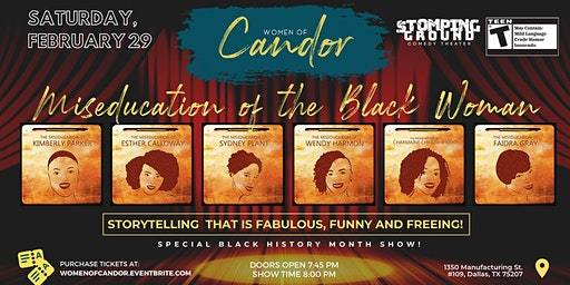The Miseducation of the Black Woman presented by Women of Candor