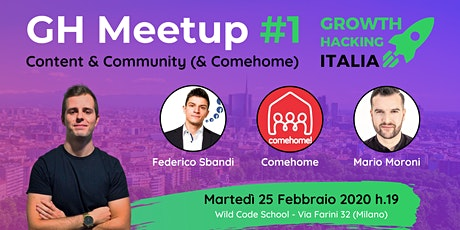 GH Meetup #1 - Content & Community (& ComeHome!) tickets