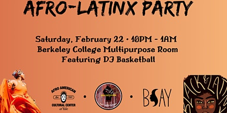 Afro-Latinx Party tickets