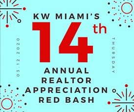 14th Annual Realtors RED Bash tickets
