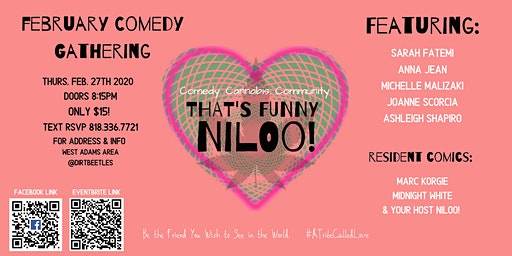 That's Funny Niloo!  Post Valentine's Uplift!