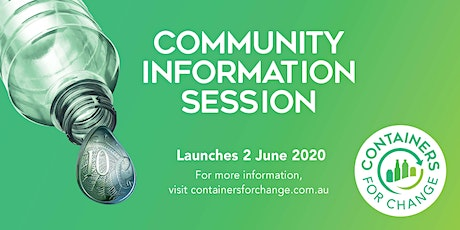 Armadale Containers For Change Information Session tickets