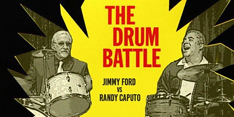 Drum Battle - Jimmy Ford vs Randy Caputo at Jazzville Palm Springs tickets
