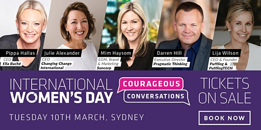 International Women's Day 2020: Courageous Conversations