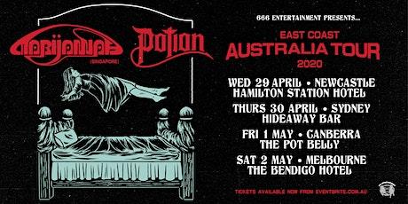 MARIJANNAH (SG) + POTION EAST COAST AUSTRALIA TOUR 2020  tickets