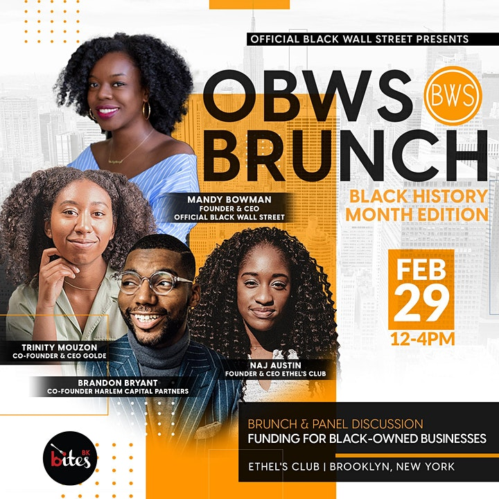 The Official Black Wall Street Brunch - Black History Month Edition image