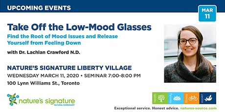 Find the Root of Mood Issues and release yourself from feeling down! tickets