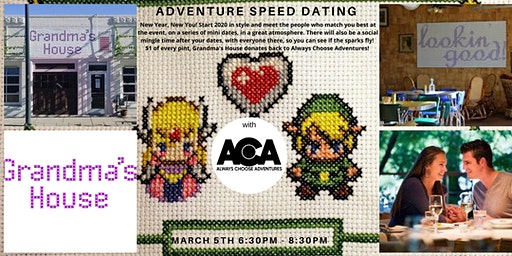 Adventure Speed Dating with Always Choose Adventures