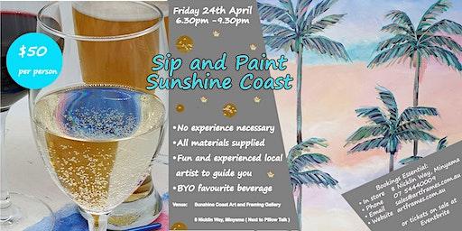 Sip and Paint Sunshine Coast