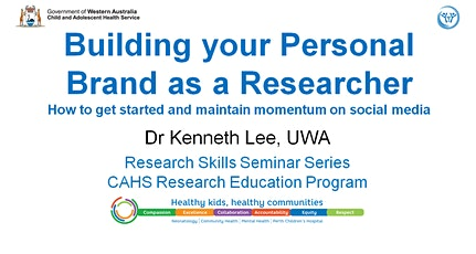 Research Skills Seminar: Building your Personal Brand as a Researcher - 27 March tickets
