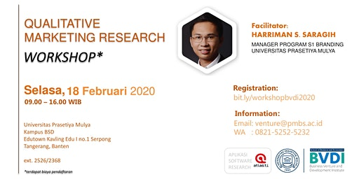 Workshop - Qualitative Marketing Research