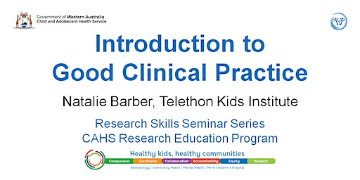 Research Skills Seminar: Introduction to Good Clinical Practice - 6 March