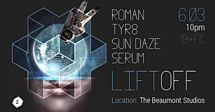 Twocubed presents: Lift Off tickets