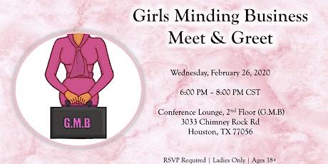 Girls Minding Business Foundation Meet & Greet  tickets