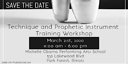 Dance Technique & Prophetic Instrument Workshop (Skill and Anointing)