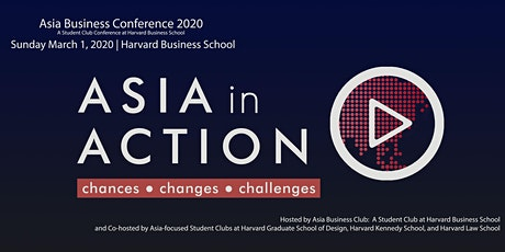 Asia Business Conference 2020: Asia in Action tickets