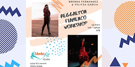 Reggaeton / Flamenco Workshop with Brenda & Yelitza billets