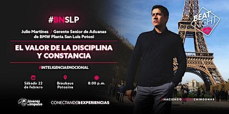 BeatNight San Luis Potosí con Julio Martínez  tickets