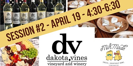 Wine and Cheese Pairing  - Session Two tickets