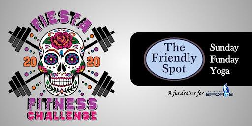 Fiesta Fitness Fundraiser - Sunday Funday Yoga at Friendly Spot