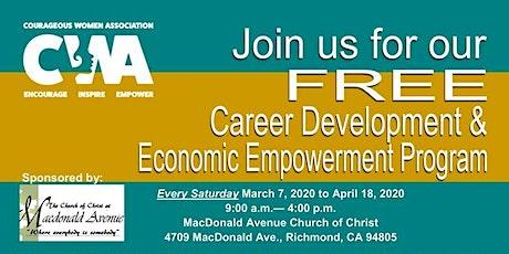 Cancelled - Career Development and Economic Empowerment Program (CDEEP) tickets