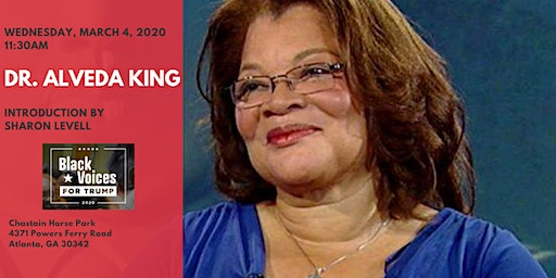 Fulton County Republican Women: Dr. Alveda King