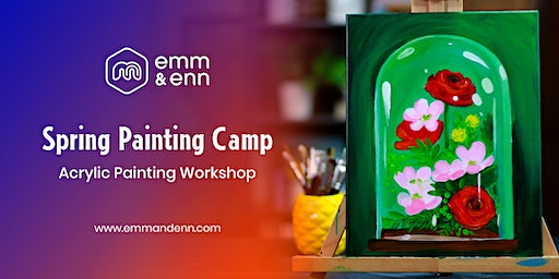 Spring Painting  Camp