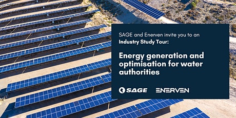 Industry Study Tour: Energy Generation & Optimisation for Water Authorities tickets
