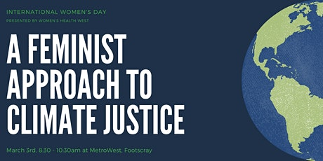 A Feminist Approach to Climate Justice tickets