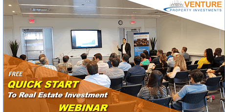 WEBINAR: QUICK-START to Real Estate Investing - Feb 26th, 2020 tickets