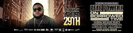 Pete Powerz Album Release Party