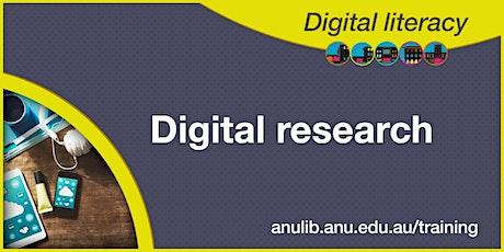Digital Research webinar tickets