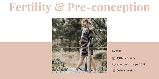 Fertility & Preconception Webinar