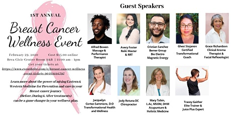Breast Cancer Wellness Event tickets