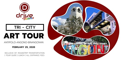 Tri-city Art Tour feat Antipolo-Angono-Binangonan, Rizal tickets