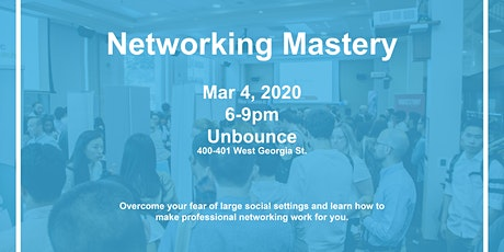 Networking Mastery tickets