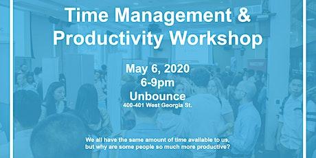 Time Management & Productivity Workshop tickets