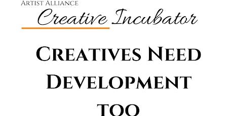 Creative Incubator tickets