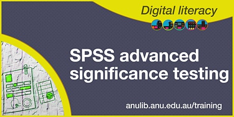 SPSS advanced significance testing tickets