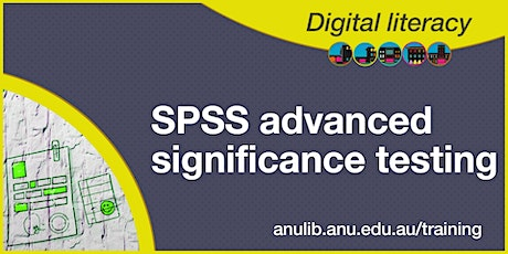 SPSS advanced significance testing webinar tickets