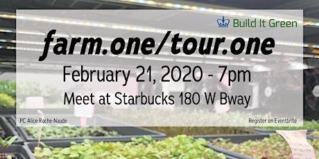 farm.one tour - Feb 21 tickets