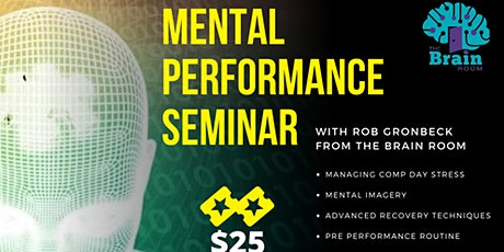 The No B.S. Mental Performance Seminar tickets