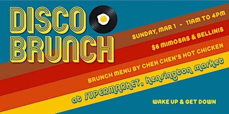 Disco Brunch - March tickets