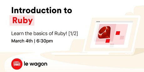 Introduction to Ruby  ⚡️ tickets