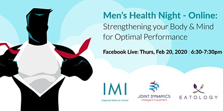 Men's Health Night: Strengthening your Body & Mind for Optimal Performance tickets