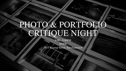 Photo Critique and Portfolio Review Night at Node tickets